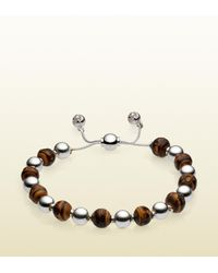 Gucci | Natural Bamboo Beads Bracelet | Lyst