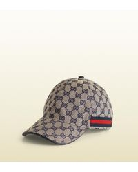 327c2e1b22b Lyst - Gucci Original Gg Canvas Baseball Hat With Web in Natural for Men