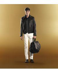 Gucci - Black Wrap Leather Bracelet - For Men for Men - Lyst