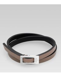 Gucci Metallic Bracelet with Buckle for men
