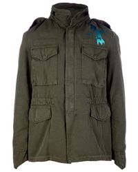 FREE CITY Green Military Jacket for men