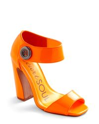 ModCloth - Girl Of My Dreams Heel in Neon Orange - Lyst