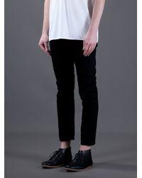Acne Studios Black Jones Lava Jeans for men