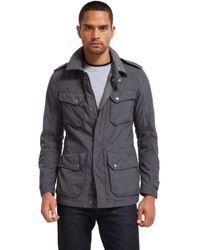 Bonobos - Gray Military Field Jacket Grey for Men - Lyst