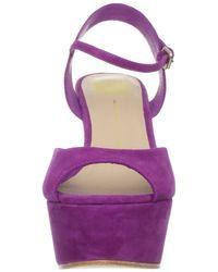 Dolce Vita | Purple Dolce Vita Womens Jacobi Wedge Sandal | Lyst
