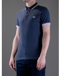 Fred Perry Blue Special Edition Polo Shirt for men