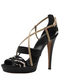 Gucci | Black Betty Highheel Platform Sandal | Lyst