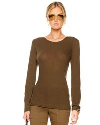 Michael Kors Brown Cashmere Knit Sweater