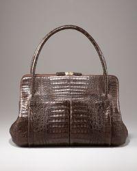 Nancy Gonzalez | Brown Linda Crocodile Bag | Lyst