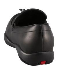 Prada - Black Classic Toggle Loafer - Lyst