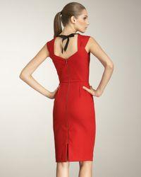 Roland Mouret - Red Lush Tie-back Dress - Lyst