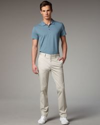 Theory | Natural Straightleg Pants Seed for Men | Lyst