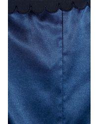 Stella McCartney - Blue Sam Partying Stretch-silk Playsuit - Lyst