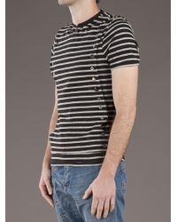 Bolongaro Trevor Gray Henley Tshirt for men