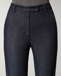 Current/Elliott - Black Neat Meriweather High-rise Trousers - Lyst