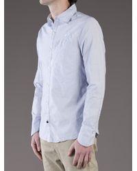 Denham Blue Mallite Shirt for men