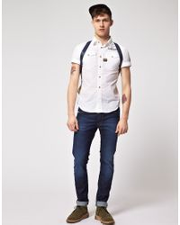 G-Star RAW - White Arizona Lawrence Shirt for Men - Lyst