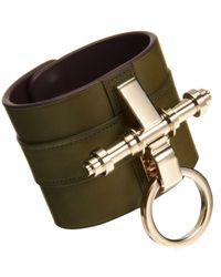 Givenchy - Green Obsedia Large Cuff - Lyst