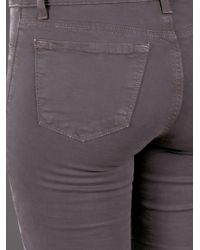 J Brand Gray Skinny Leg Jean