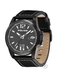 Police | Lancer Black Strap for Men | Lyst