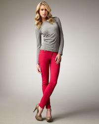 Rag & Bone | Red The Legging Jeans, Magenta | Lyst