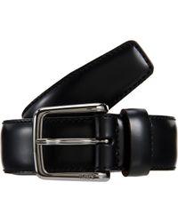 Tod's | Black Vitello Dress Belt for Men | Lyst