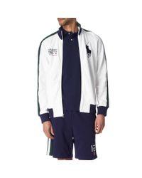 Ralph Lauren Blue Wimbledon 126th Track Jacket for men