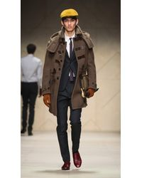 Burberry Prorsum | Gray Skinny Fit Prince Of Wales Check Wool Jacket for Men | Lyst
