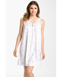 Carole Hochman | White Sweet Delight Short Nightgown | Lyst