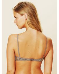 Chan Luu Metallic Beaded Bra