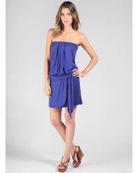 Ella Moss | Blue Girls Best Friend Tube Dress | Lyst