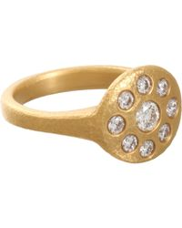 Linda Lee Johnson | Metallic Diamond Jubilee Ring | Lyst