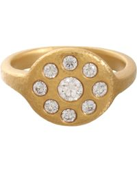 Linda Lee Johnson - Metallic Diamond Jubilee Ring - Lyst