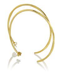 Mary Portas | Metallic Hoopla Earrings | Lyst