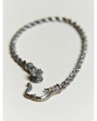 Nonnative - Metallic Nonnative Mens Twist Link Bracelet for Men - Lyst