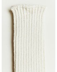 Nonnative - White Cotton Socks for Men - Lyst