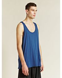 Rxmance Blue Tank Top for men