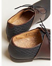 Sasquatchfabrix Brown Sasquatchfabrix Eototo Mens Woven Dress Shoes for men