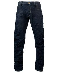 G-Star RAW Blue Gstar Raw Arc Loose Tapered Jeans Dark Age for men