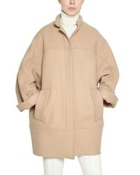 Chloé Natural Wool Drill Coat