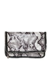 Stella McCartney | Black Falabella Triple Handle Bag | Lyst