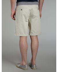 Bench Natural Chino Shorts for men