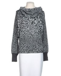 Miss Sixty - Gray Long Sleeve Sweater - Lyst