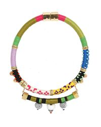 Holst + Lee - Multicolor Holst Lee Emerald City Necklace - Lyst