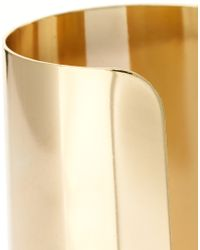 ASOS | Metallic Modern Armour Cuff | Lyst
