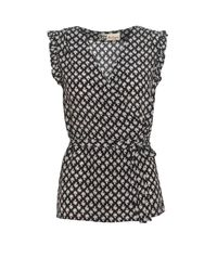Boutique by Jaeger Black Layla Daisy Top