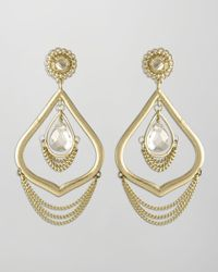 Kendra Scott | Metallic Julia Earrings  | Lyst