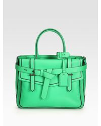 Reed Krakoff   Green Leather Bag   Lyst