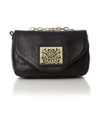 Biba Black Chrissie Mini Cross Body Bag