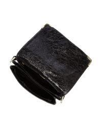 Biba Black Gretal Leather Shoulder Bag